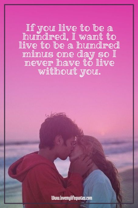 if you love to be a hundred