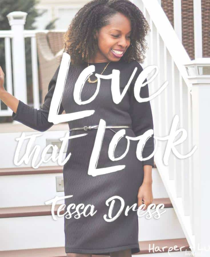 Love That Look: Tessa with Fisheye Dart Swayback Adjustment