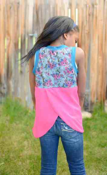 Love Notions Hip Hop Tank Top easy PDF Pattern