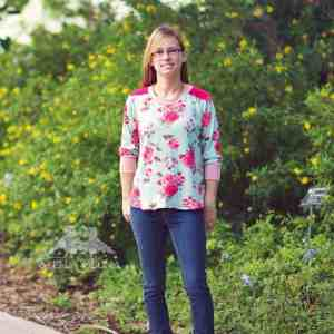 Love Notions Sloane Sweater pdf pattern for ladies