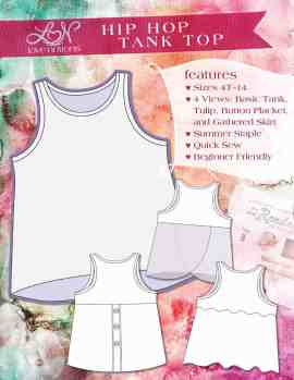Love Notions Hip-Hop Tank Pattern
