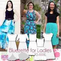Bluezette Dress Pattern for Ladies