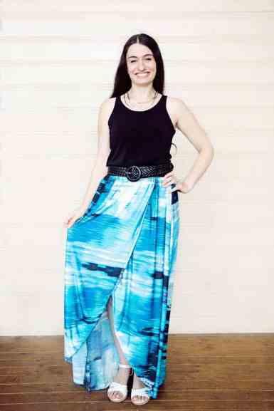 Bluezette Dress Pattern for Ladies