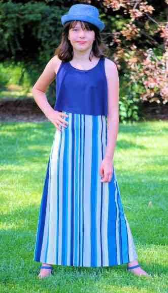 Posh Popover Top & Maxi Dress Pattern