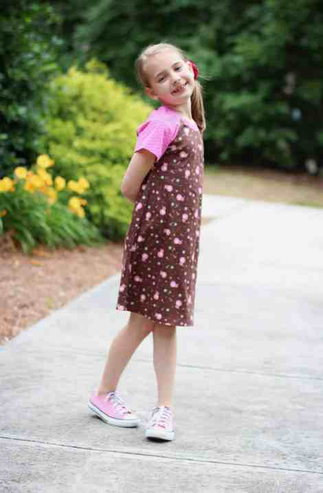 Love Notions Wrigley Raglan and Dress Easy PDF Pattern