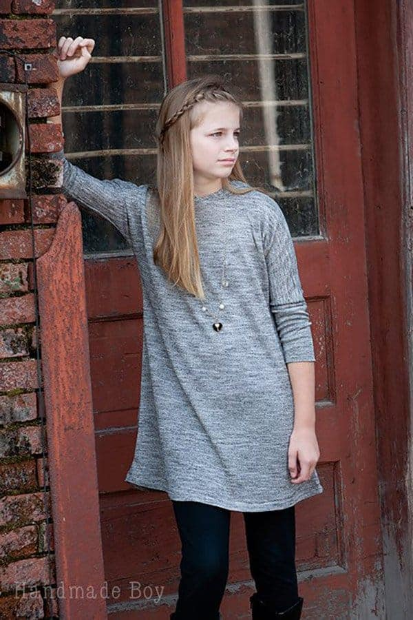 Girls La Bella Tunic with hood