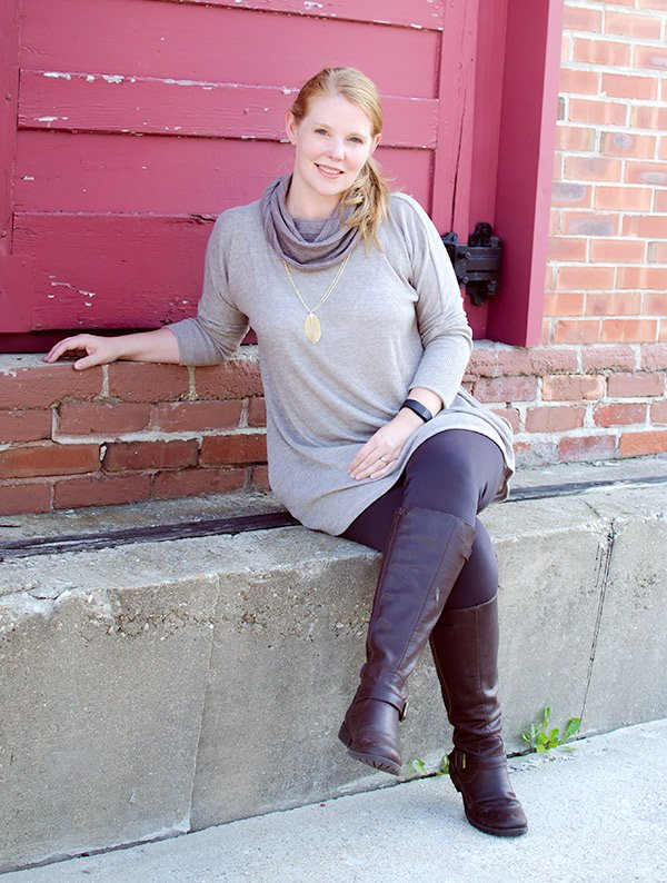 La Bella Donna Tunic with Cowl