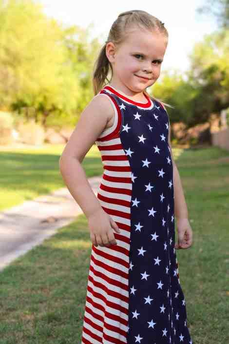 Girls Tidal Maxi Dress