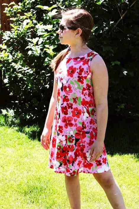 Girls Tidal knee length dress