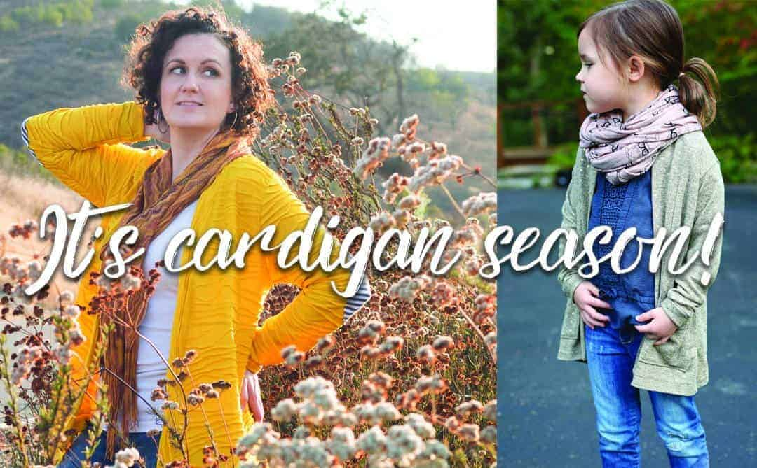 Cardigan sewing
