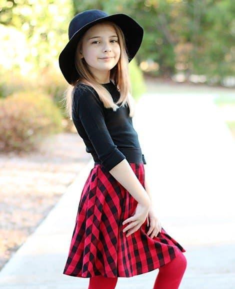 Skater skirt pattern