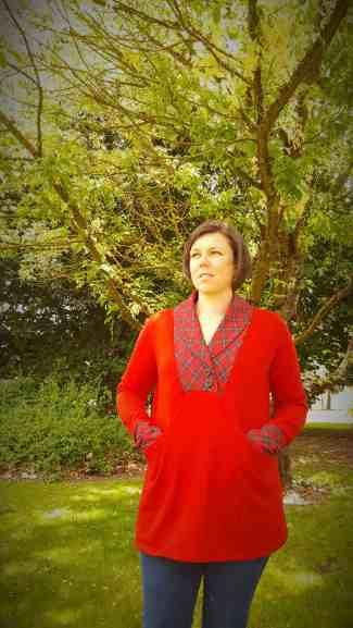 Whistler shawl collar