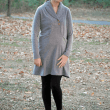 Whistler shawl collar tunic length