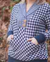 Whistler pull-over with banded bottom