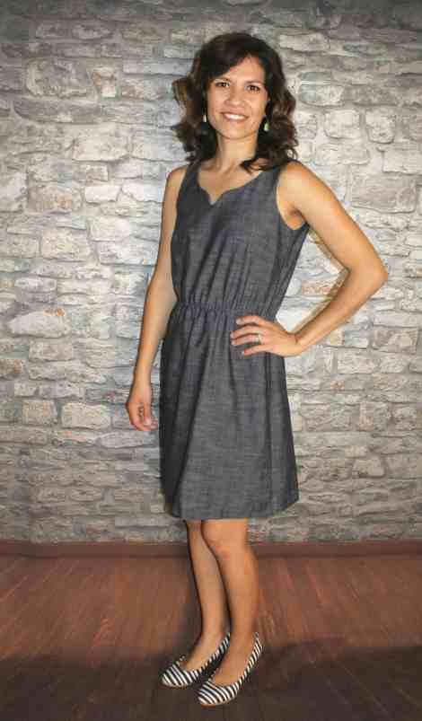 Knee length Cadence tank dress