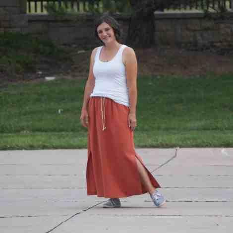 Allegro ankle length skirt