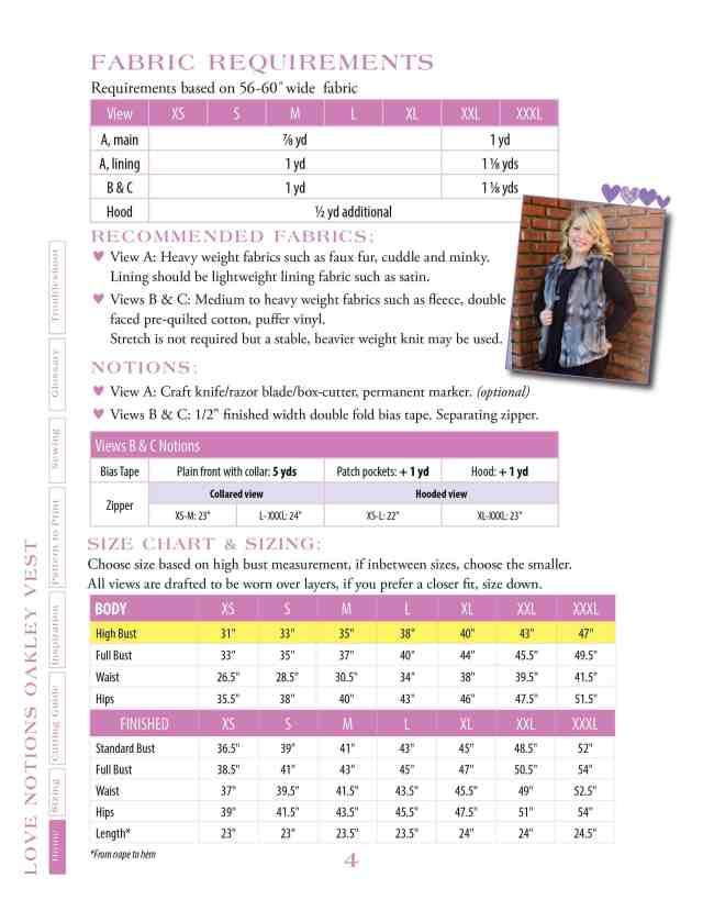 Oakley size chart