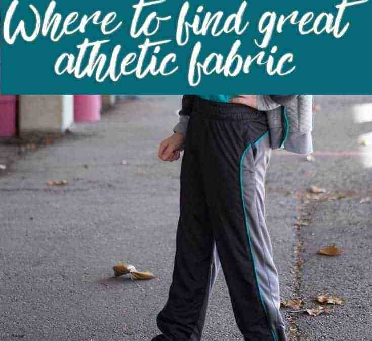Shopping for Athletic Fabric