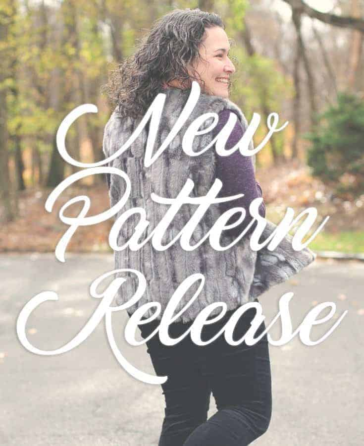 The Oakley and Acorn Vests: Sewing with Fur and Cuddle Fabrics!