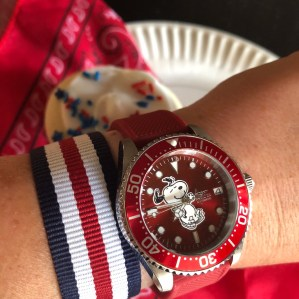 "PG's ""Crazy Snoopy"" Invicta"