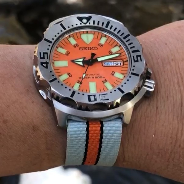 PG's Gen 1 Seiko Orange Monster