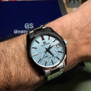 Ranch Racer's new Grand Seiko SBGA387 limited edition