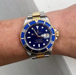 Perpetual Girl's Rolex 16613 Submariner