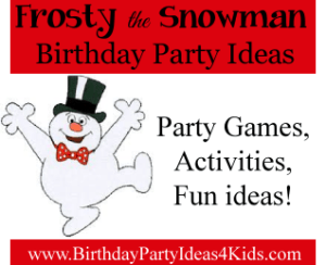 http://birthdaypartyideas4kids.com/frosty-party.html