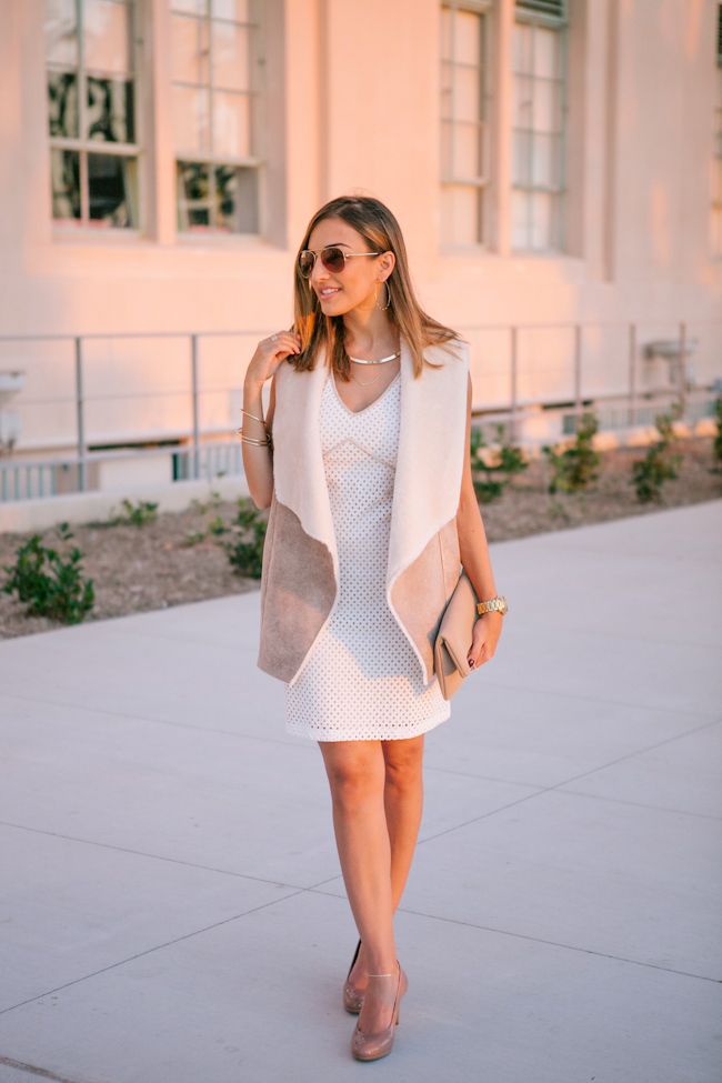 Skirt with Sleeveless Vest