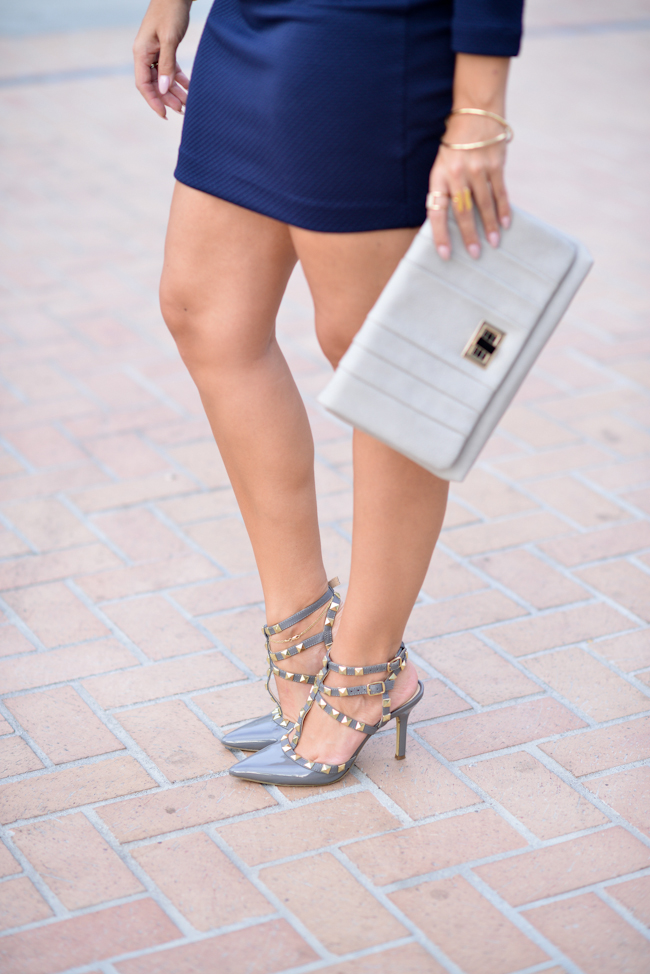 dsw studded pumps