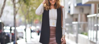 Stripes and Leather + GIVEAWAY