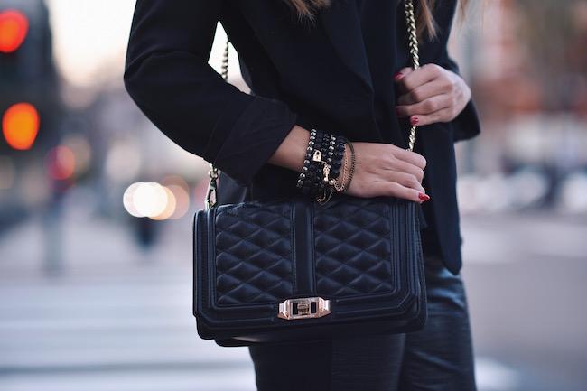 rebecca minkoff handbag black