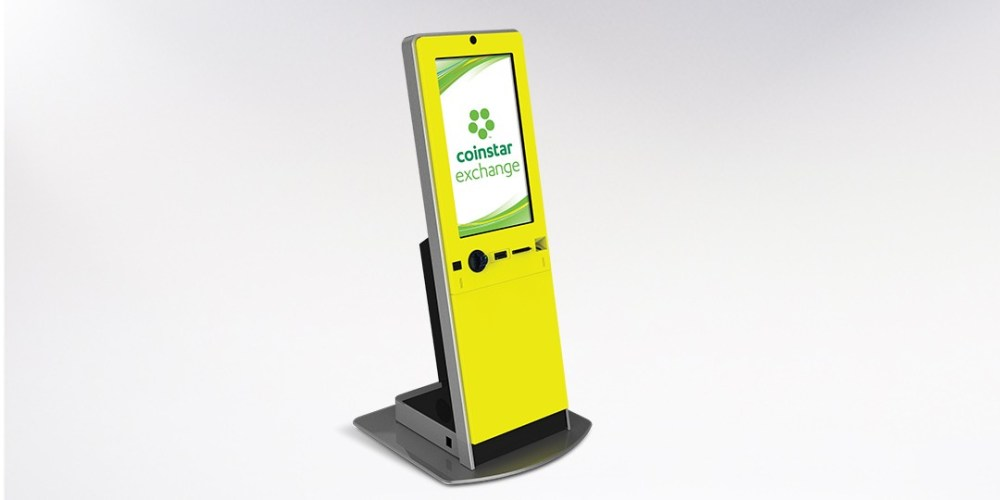 Coinstar Exchange Gift Card Cash Machine