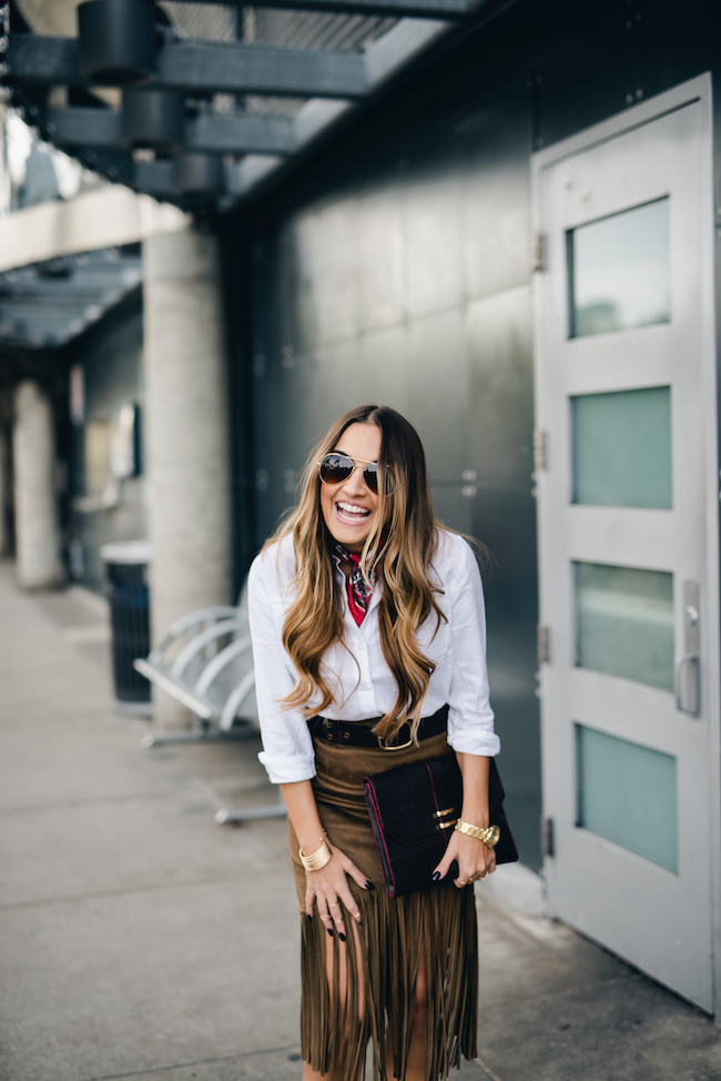Olia San Diego Style Blogger Laughing
