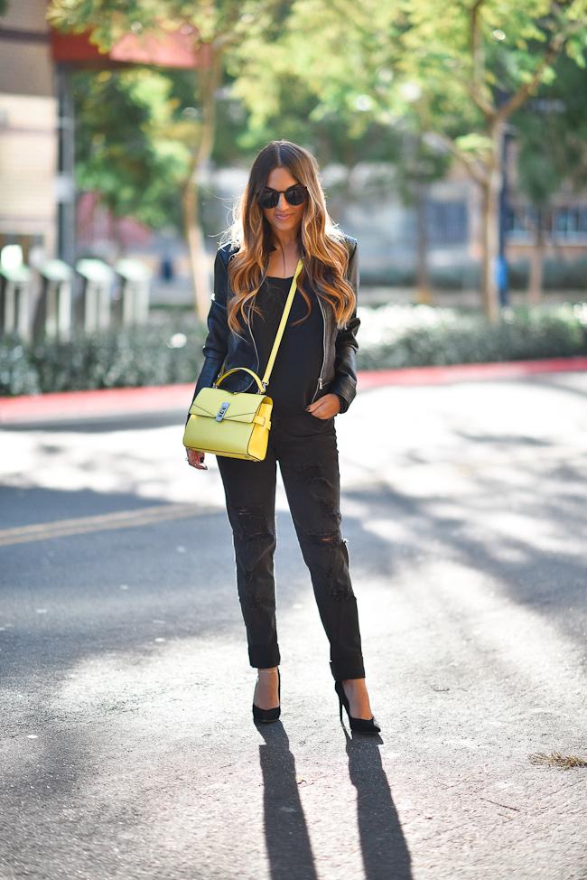 Yellow Bendel Bag673