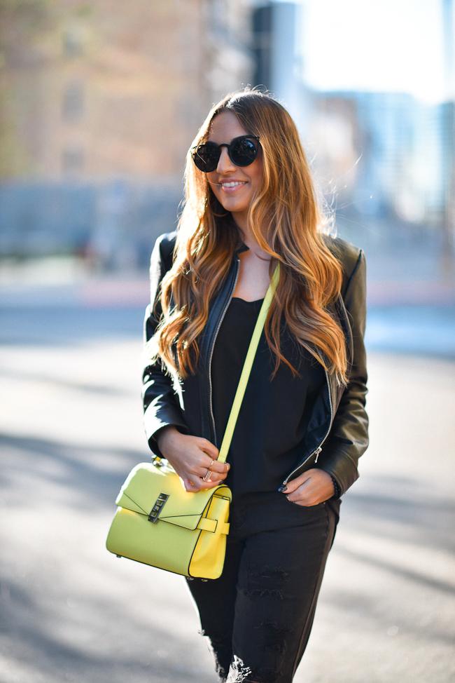 Yellow Bendel Bag751