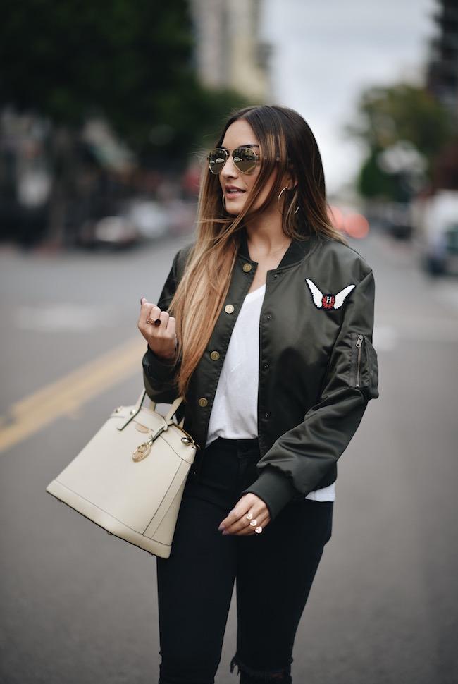 Gigi Bomber Jacket