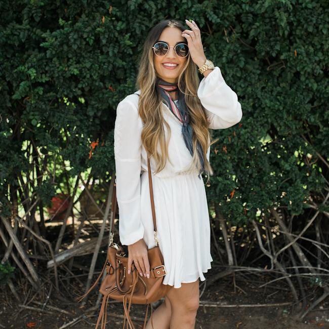 Rebecca Minkoff White Dress-2