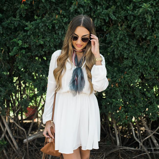 Rebecca Minkoff White Dress