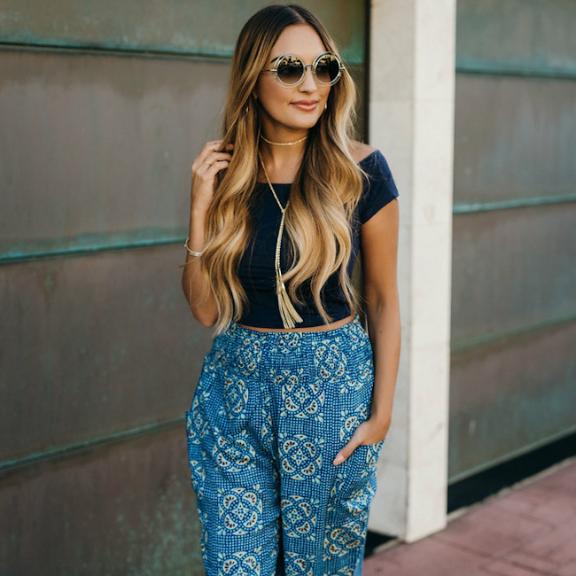 Aerie Harem Pants Outfit