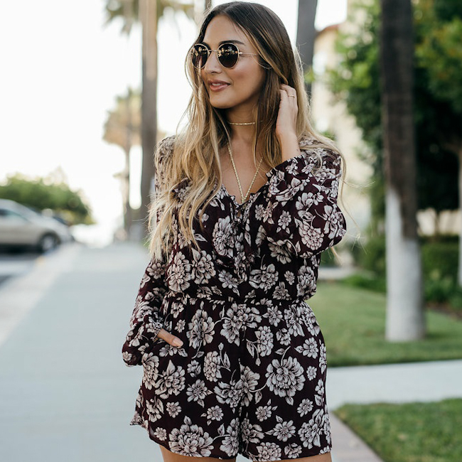 Band of Gypsies Flower Romper