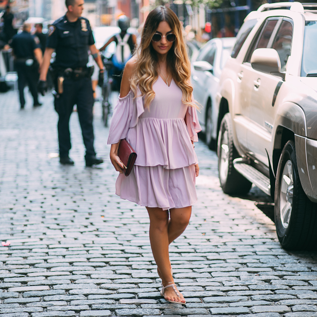Rebecca Minkoff Roberta Ruffle Dress
