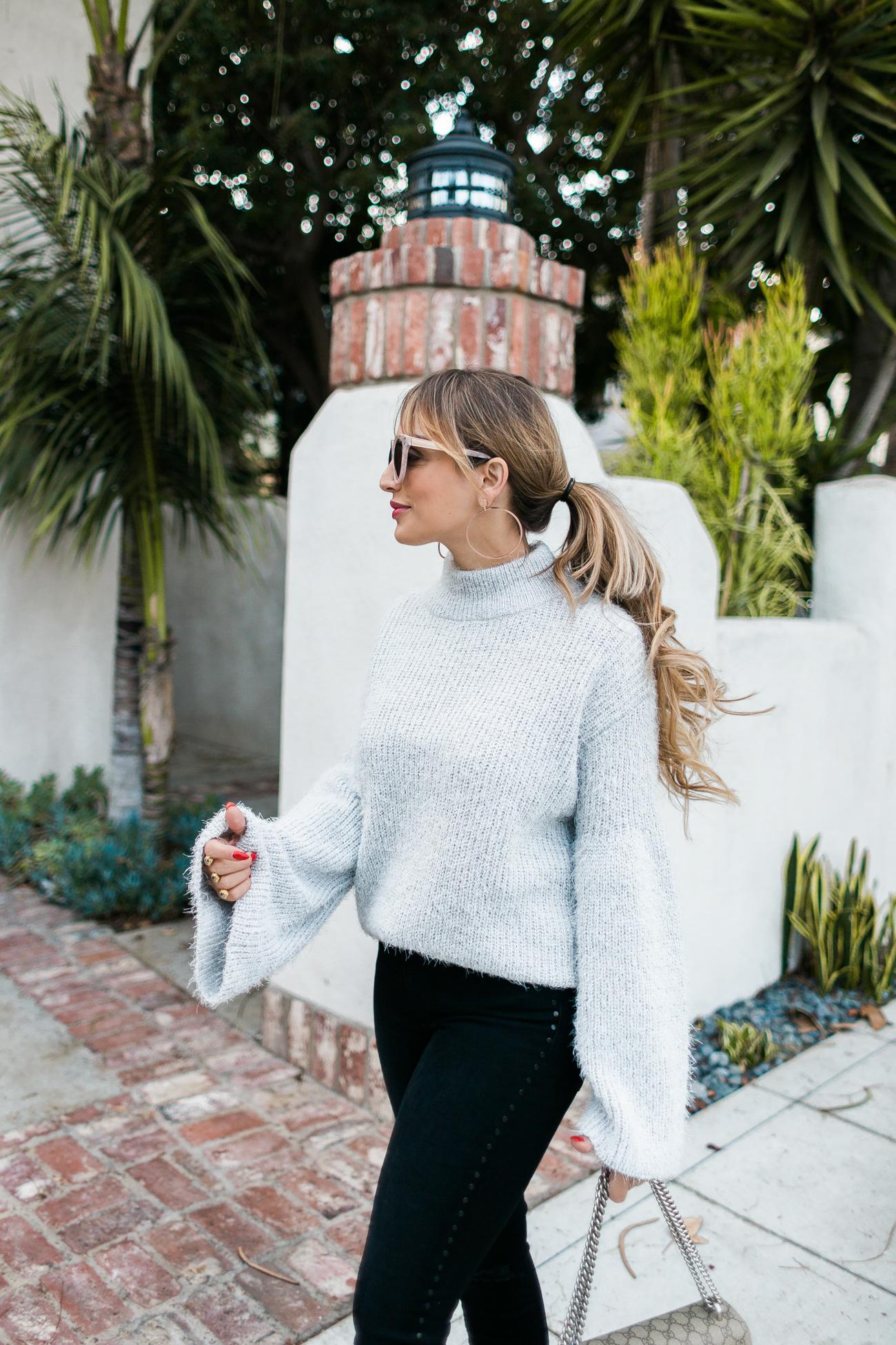 Lush Grey Sweater
