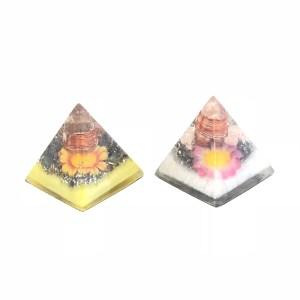 ミニピラミッド フラワー富と愛