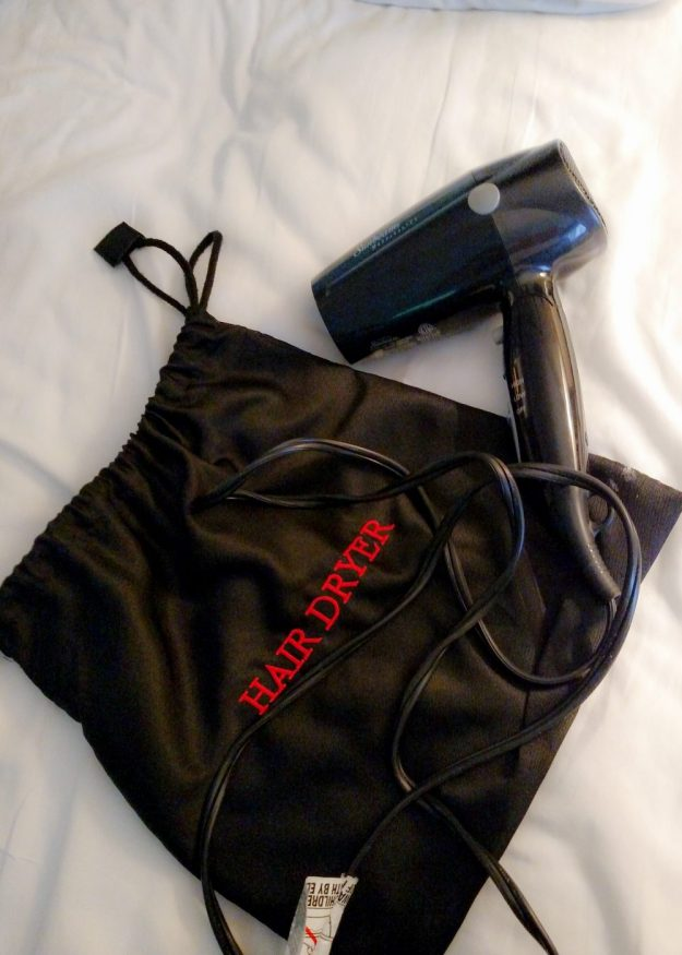 Read why this hair dryer won me over and made this hotel perfect for large families