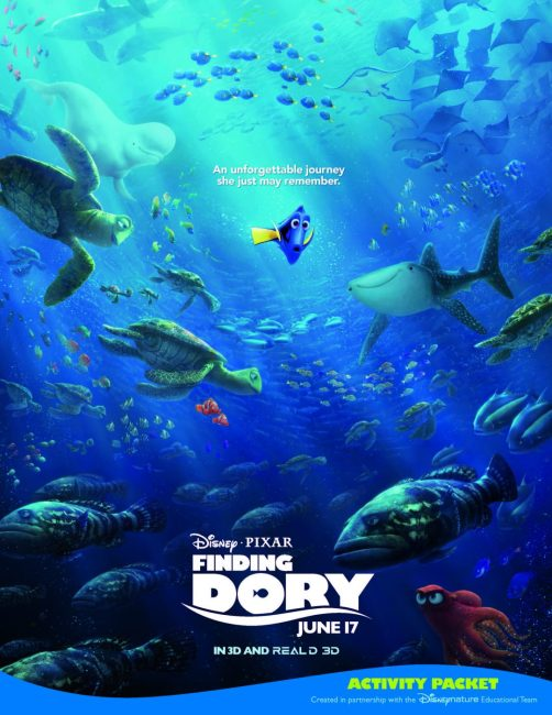 Finding Dory Learning Unit and Crafts