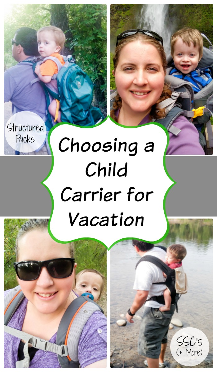 Compare Baby Carriers For Your Vacation
