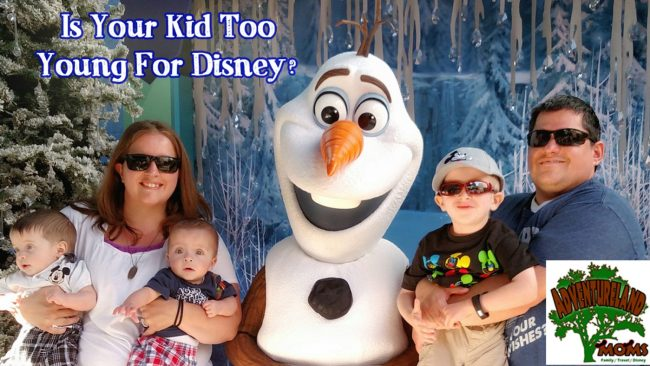 is your kid too young for Disney?