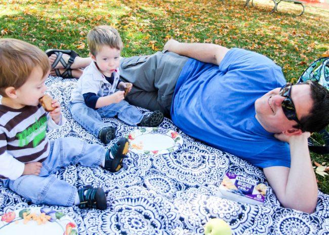Welch's Graham Slam and DIY picnic blanket