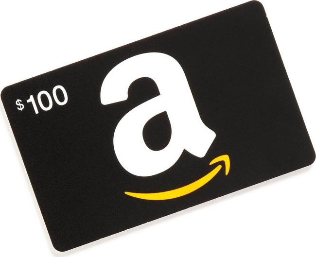 Win a $100 Amazon Gift Card (Giveaway 2)